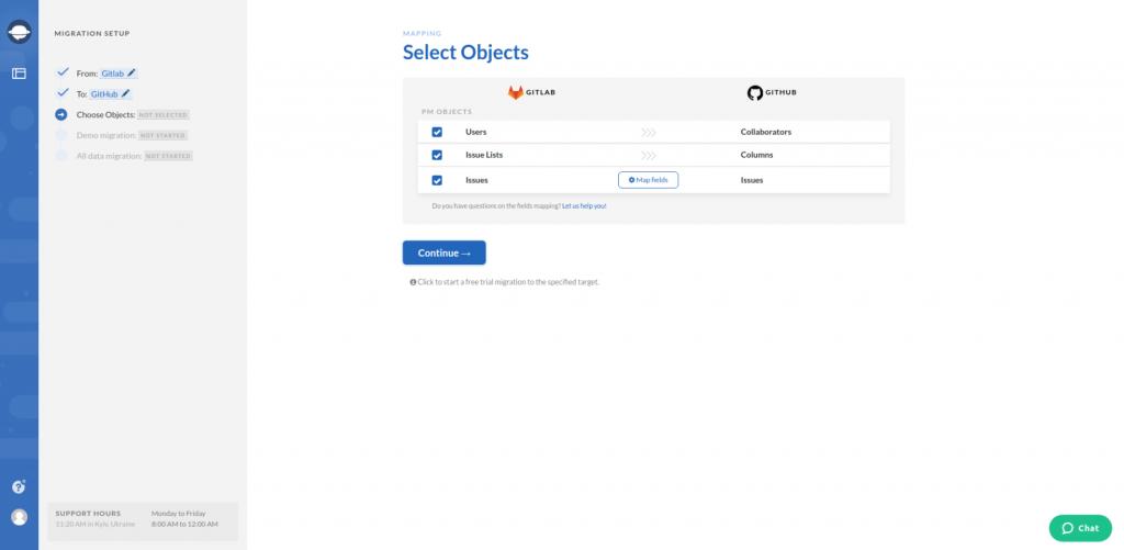 Select Object GitLab